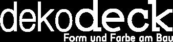 Logo dekodeck - Fassaden und Dachschalungsprofile