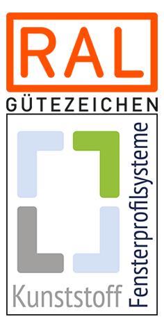 RAL gütegesicherte Kunststoff-Fensterprofilsysteme