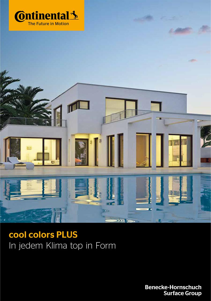 Cool color plus broschüre mit Hornschuch Folien bei profil dekor